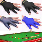 Spandex Snooker Billiard Cue Gloves Pool Left Hand Open Three Finger Glove FT £1.45 GBP on eBay