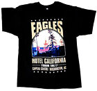 Eagles Hotel California Mens T-Shirt Rock Band Tee image