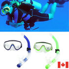 Adult Snorkel Combo  And Snorkel Snorkeling Set for Diving Swimming CA