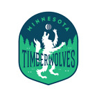 Minnesota Timberwolves sticker for skateboard luggage laptop tumblers  (f) on eBay
