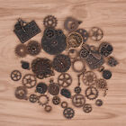 40Pcs Metal Alloy Steampunk Clock Charms Vintage DIY Pendants Jewelry FindinRS