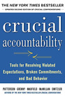 Patterson, Kerry/ Grenny, J...-Crucial Accountability (US IMPORT) BOOK NEU
