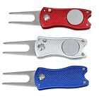 Foldable Golf Divot Tool Pitch Groove Cleaner Golf Training Aids Golf Acces J6X5