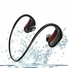 Earphone Waterproof Wireless Bluetooth Headphones Stereo Heavy Bass Earbuds Mic