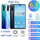 P30 Pro 6 256GB Smart Phone 6.3inch Screen Android System Dual SIM Unlocked