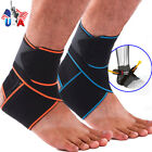 Adjustable Ankle Brace Compression Bandage Support Sports Wrap for Men & Women $7.59 USD on eBay
