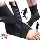 Ankle Brace Achilles Tendon Sports Support Wrap Sleeve Gym Adjustable Neoprene $4.6 USD on eBay