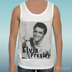 "TANK TOP T-SHIRT "" ELVIS PRESLEY SEXY SIMBOL ""GIFT IDEA ROAD TO HAPPINESS"