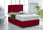 SIDE LIFT LEATHER OTTOMAN BED IN FAUX LEATHER