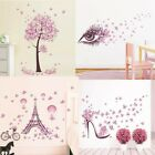 Uk Diy Butterfly Flower Tree Wall Stickers Bedroom Living Room Home Decor Decals