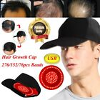 Infrared Hair Loss Therapy Cap 276/152/76pcs Lamp Bead Hair Growth Treatment Hat