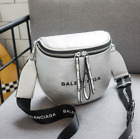 NEW Balenciaga² Bag Small Leather Messenger Bag Flat-top