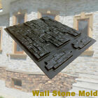 Pathway Mold Wall Stone Concrete Pavement Mould Maker DIY Stepping Paving Cement image