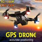 Drone x pro 2.4/5G Selfie WIFI FPV Dual GPS 4K HD Camera Foldable RC Quadcopter