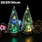 Mini Christmas Snow Tree Small Pine Tree Table Office Home Decoration Colorful