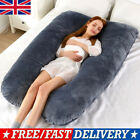 U Shaped Maternity Pregnancy Pillow Nursing Feeding Boyfriend Body Pillows SN