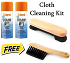 POOL SNOOKER TABLE CLOTH CLEANING KIT - Ambersil Cloth Cleaner + Free Brushes £19.69 GBP on eBay