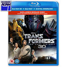 TRANSFORMERS: THE LAST KNIGHT Blu-ray 3D + 2D (REGION-FREE)