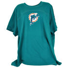 NFL For Her Miami Dolphins Fins Bling Women Ladies Fan Shirt Team Gear $19.99 USD on eBay