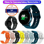 Silicone Sport Wristband Strap Band For Samsung Galaxy Watch Active 2 40mm/44mm image