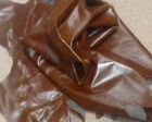 C42 Leather Cow Hide Cowhide Upholstery Craft Fabric Brahma Tobacco Brown
