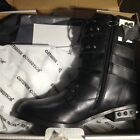 simply be leather studded womens boots with zip side fastener bnwt