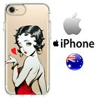 Silicone Case Cover Betty Boop Sexy Retro Glamour cartoon jessica rabbit red dre $12.5 CAD on eBay