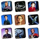 Star Trek Deep Space Nine DSN Coasters - Ships - Wooden Coasters - 4 For 3 on eBay