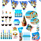 'Toy Story Theme Buzz  Woody Bo Peep Birthday Decorations Supplies Party Plate