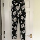 Floral Jersey Trousers 6/8