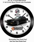 BUICK GRAND NATIONAL WALL CLOCK-FREE USA SHIP!, CAMARO, MUSTANG, CHEVELLE