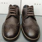 Marni men's lace-up leather shoes - Made in Italy, slip resistant RRP £500