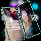 For iPhone 11 Pro Max Anti-peep Magnetic Phone Case Metal Bumper Cover Anti-Spy $14.52 USD on eBay