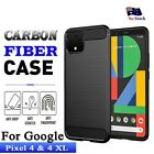For Google Pixel 4 & 4 Xl Heavy Duty Rugged Shockproof Bumper Matte Case Cover