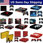 Skin Cover Sticker Decal for Sony Playstation Original PS4 Console 2 Controller