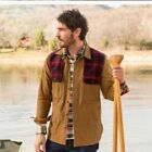 NWT Woolrich MIX UP SHIRT JAC JACKET Color: Chicory 83% Off!