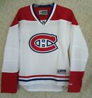 Montreal Canadiens White Women's NHL Reebok Premier Hockey Jersey - M, XL or XXL $39.95 USD on eBay