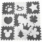 EVA Foam Fun Shape Puzzle Play Soft Mat Interlocking Tiles for Babies & Children
