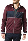 Ben Sherman Tricot Track Top wine or navy blue jacket