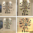 Wall Stickers Acrylic 3D Tree Photo Stick Wall Decals Decoration for Home Office