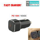 18W PD Type C For iPhone 11 Pro Max QC 3.0 Fast Car Charger Adapter USB Charging