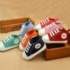 New Canvas Classic Sports Sneakers Newborn Baby Boys Girls First Walkers Shoes I
