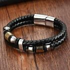 Genuine Leather Bracelet Double Layer 19/21/23CM Gold/Silver Color Special Jewel