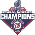 Washington Nationals 2019 World Series CHAMPIONS Decal / Sticker