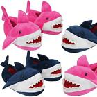 Adults/Kids Novelty 3D Shark Design Slippers Daddy Mummy Mini Me Matching