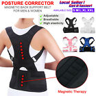 Magnetic Therapy Posture Corrector Body Brace Back Shoulder Support Pain Relief