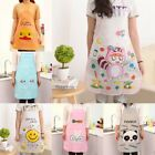 Cartoon Animal Women Waterproof Aprons Kitchen Restaurant Cooking Bib Aprons