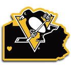 Pittsburgh Penguins vinyl sticker for skateboard luggage laptop tumblers (c) $7.99 USD on eBay