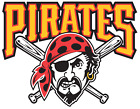 Pittsburgh Pirates vinyl sticker for skateboard luggage laptop tumblers (b) on Ebay