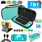 For Nintendo Switch Lite 7in1 Accessories Set Multi Storage Bag+Case Cover+Base